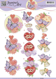 Jeanine's Art - Love and Wedding CD10990