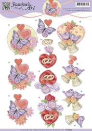 Jeanine's Art - Love and Wedding CD10990