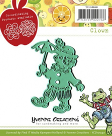Die - Yvonne Creations - Clown YCD10040