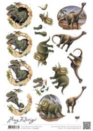 3D Knipvel Amy Design Dinosauriërs CD10907