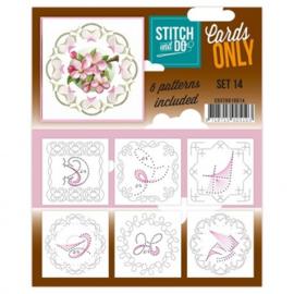 Stitch & Do - Cards Only - 4k - Set 14 COSTDO10014