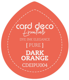 Card Deco Essentials Fade-Resistant Dye Ink Dark Orange CDEIPU004