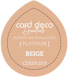 Card Deco Essentials Fast-Drying Pigment Ink Pearlescent Beige CDEIPL019