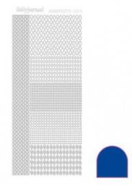 Hobbydots sticker Mirror Blue 004 STDM04A