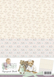 Amy Design - Baby Collection - Paperpack background sheets 1 ADPP10011