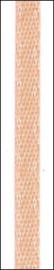 5 mtr satijnlint 6 mm abrikoos 6302 120