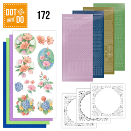 Dot and Do 172 - Aquarel Tulpen en meer   DODO172