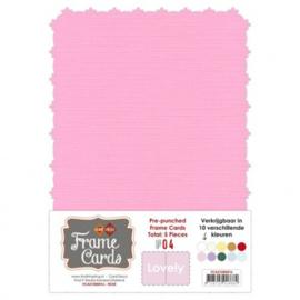 Frame Cards - Lovely - A5 - Roze FCA51000416