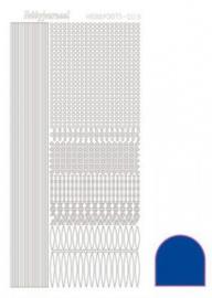 Hobbydots sticker Mirror Blue 003 STDM03A
