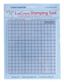 LeCrea Stamping Tool voor clear stamps 55.3226