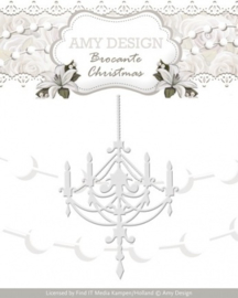 Die - Amy Design - Brocante Christmas - Chandelier ADD10034