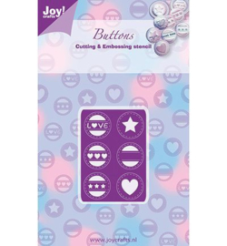 Joy crafts snij- en embossing love - 6002/0265