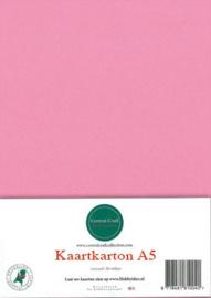 A5 Kaartkarton  roze  6