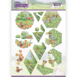 3D knipvel - Jeanine's Art - Spring Landscapes - Meadows CD11294