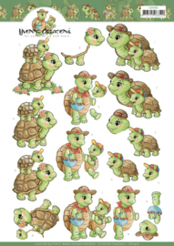 Yvonne Creations - Turtle Mommy CD11410