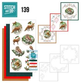 Stitch and Do 139 - Amy Design - Christmas Animals  STDO139