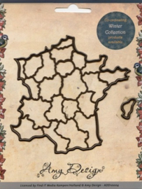 Die - Amy Design - Maps -France ADD10006