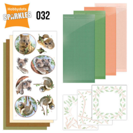 Sparkles Set 32 - Amy Design - Wild Animals - Outback SPDO32