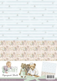 Amy Design - Baby Collection - Paperpack background sheets 2 ADPP10012