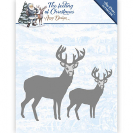 Die - Amy Design - The feeling of Christmas - Christmas reindeers ADD10115