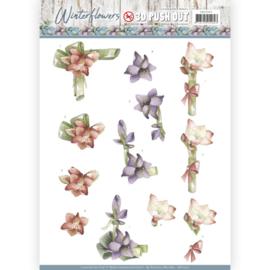 3D Pushout - Precious Marieke - Winter Flowers - Amaryllis SB10301