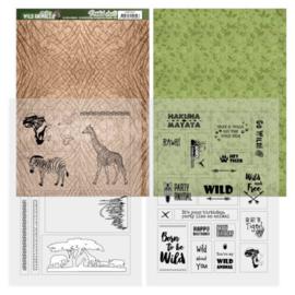 Printed Sheets - Amy Design - Wild Animals ADMC1001
