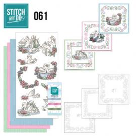 Stitch and Do 61 - Swans STDO061