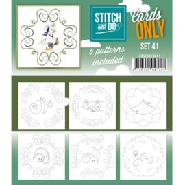 Cards only Stitch 41 - 4k -  COSTDO10041