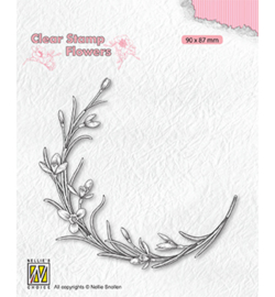 Nellie clearstamp FLO029 - Blooming twig
