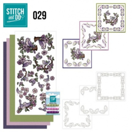 Stitch and Do 29 - Birds STDO029