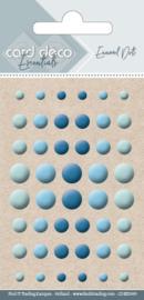 Card Deco Essentials - Enamel Dots Blue CDEED009