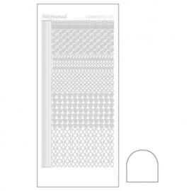 Hobby dots sticker Adhesive white 019 STDA190