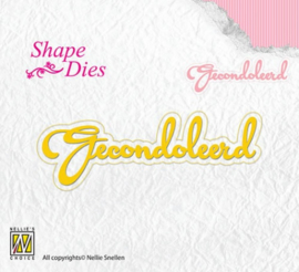 Shape Dies - Gecondoleerd SD101