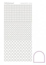 Hobbydots sticker Adhesive White 008 STDA080