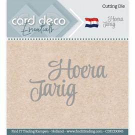 Card Deco Essentials - Cutting Dies - Hoera Jarig CDECD0045