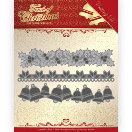 Dies - Precious Marieke - Touch of Christmas - Christmas Borders PM10186