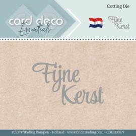Card Deco Essentials - Dies - Fijne Kerst CDECD0077