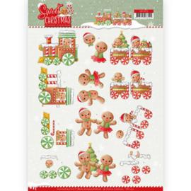 3D Knipvel - Yvonne Creations - Sweet Christmas - Sweet Cookies CD11373