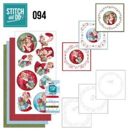 Stitch and Do 94 - Bubbly Girls STDO094