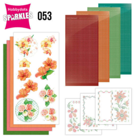 Sparkles Set 53 - Jeanine's Art -  Exotic Flowers - SPDO053