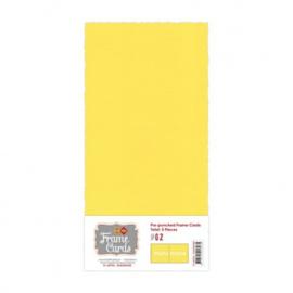 Frame Cards - Vierkant - Kanarie geel FC-4KPF06