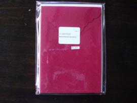 Enveloppekaart 3st. rood 11-069-9223