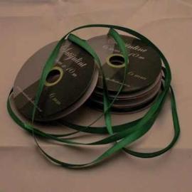6mm Satijnlint groen 10 meter op een rol 3242-579