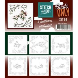 Cards Only Stitch 4K - 64 COSTDO10064