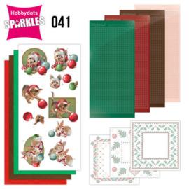 Sparkles Set 41 - Amy Design - Christmas Pets - Christmas Balls SPDO41