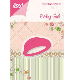 Joy crafts snij- en embossing baby girl - 6002/0214