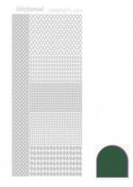 Hobbydots sticker mirror green 004 STDM042