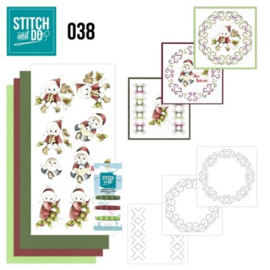 Stitch and Do 38 - Christmas Children STDO038