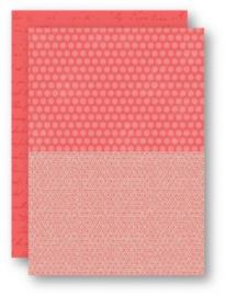 Background Sheets A4 salmon dahlia NEVA042