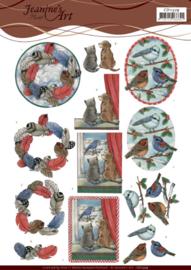 3D Cutting Sheet - Jeanine's Art - Snow Scenes CD11379